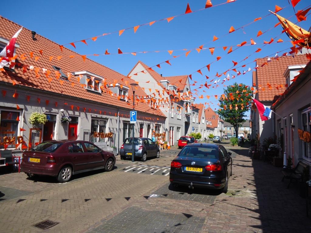 Jan Vermeijenstraat in Beverwijk. (Foto: Co Backer) © rodi