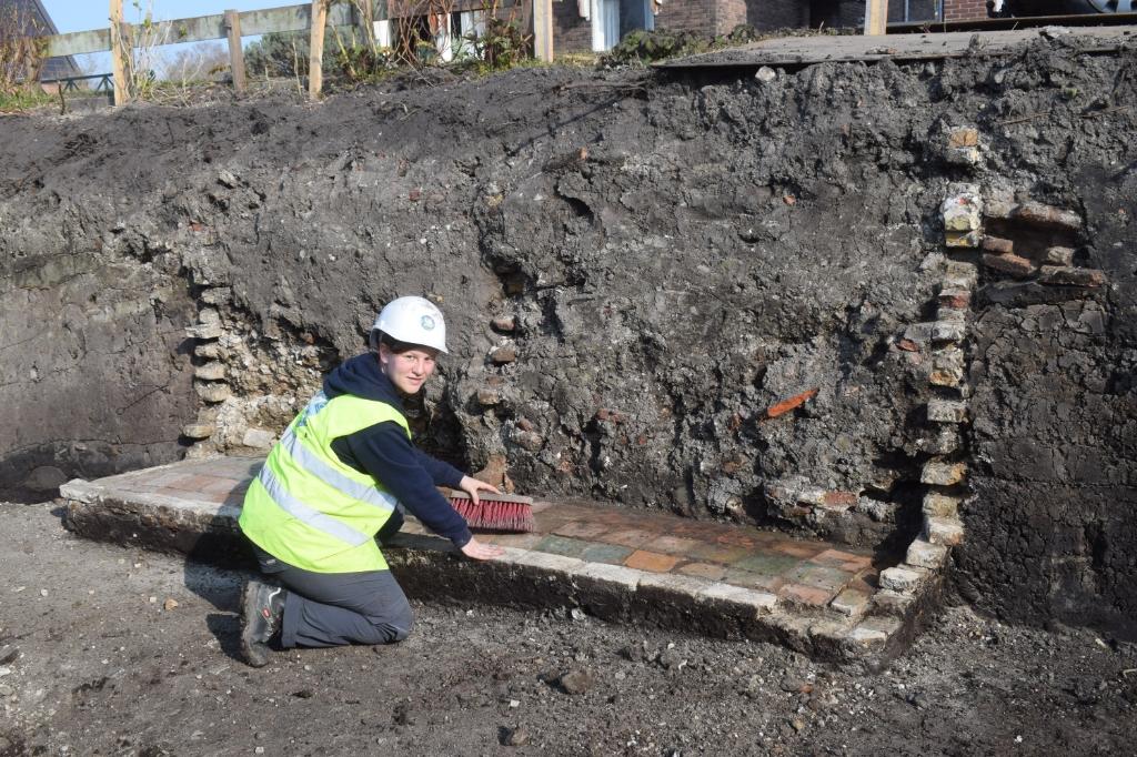 Opgravingen Hoofdstraat Bovenkarspel Foto: Archeologie West-Friesland © rodi