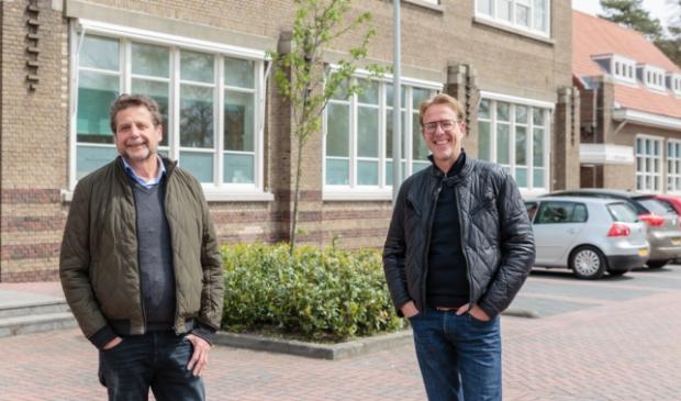 <p>Hans Preeker (l) en Henry Wassink.</p>