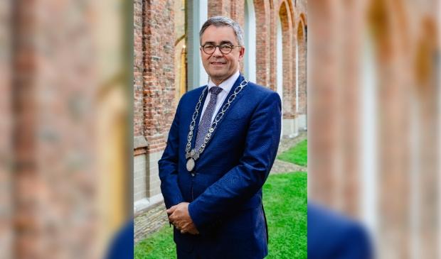 <p>Burgemeester Jos Wienen werd zowel op zakelijk als op persoonlijk vlak geraakt door corona.</p>