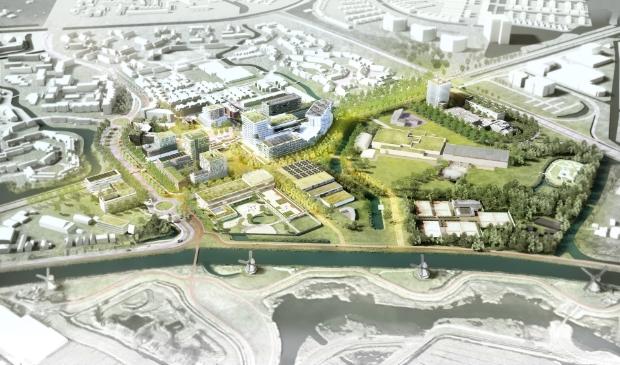 <p>Stationsgebied Alkmaar Noord gaat met 800 woningen volledig op de schop.</p>