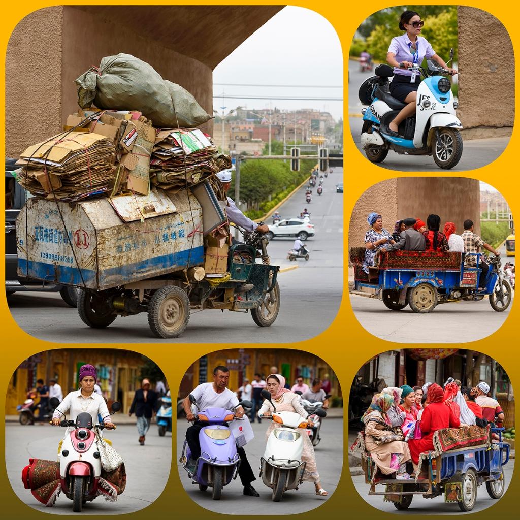 Tuktuk collage. (Foto: Jan van Goethem) © rodi