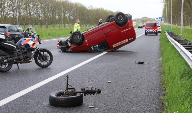 <p>Ernstig ongeval A7.</p>