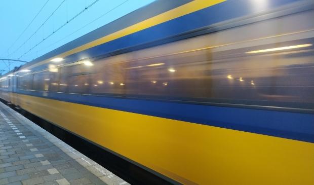 <p>NS trein.&nbsp;</p>