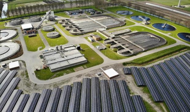 <p>Het grootste zonnepark van de Hoogheemraadschap is gerealiseerd in Wervershoof.</p>