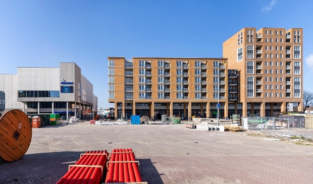 <p>Er wordt flink gebouwd in en rondom Centrum Schalkwijk. </p>