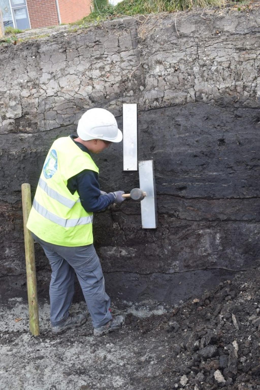 Archeologisch opgraving Hoofdstraat Bovenkarspel. Foto: Archeologie West-Friesland © rodi
