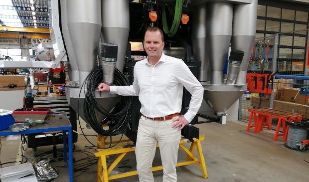Rick Koks, directeur/eigenaar van een van de grootste bedrijven van Alkmaar.