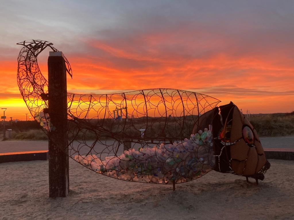 Catch Fish bij een mooie zonsondergang. (Foto: aangeleverd) © rodi