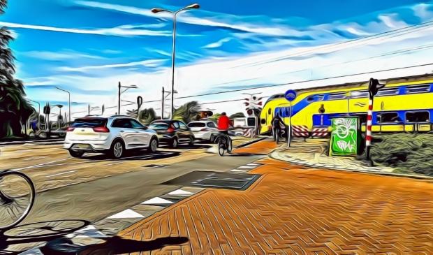 <p>De spoorwegovergang bij de Beverwijkerstraatweg, komt er ooit een veilige oplossing voor het stripverhaal?</p>