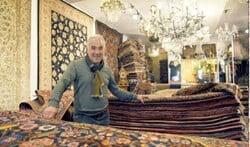 Davoud Perzische Tapijten vandaag tot 17.00 uur open