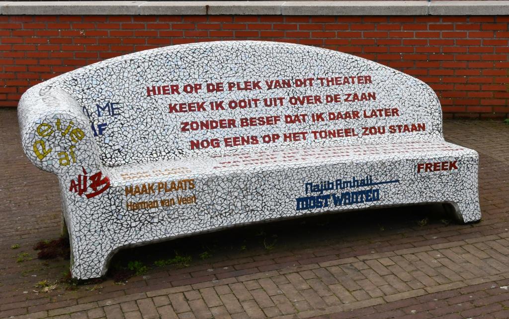Maak plaats, maak plaats... (met dank aan Herman van Veen) (Foto: Dirk Karten) © rodi