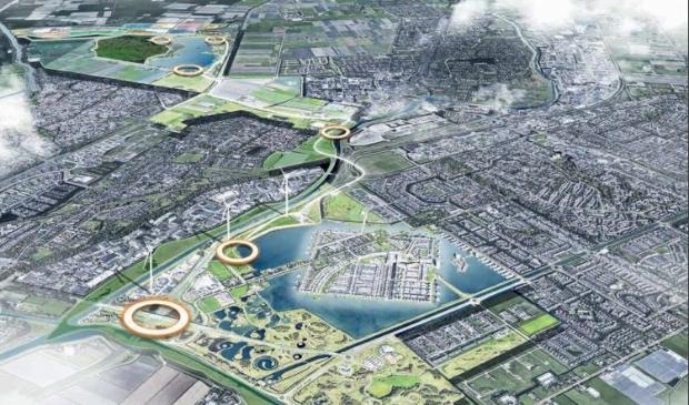 <p>Een van de speerpunten van de Visie 2030 voor het recreatiegebied is het zogenaamde Parkenlint.</p>