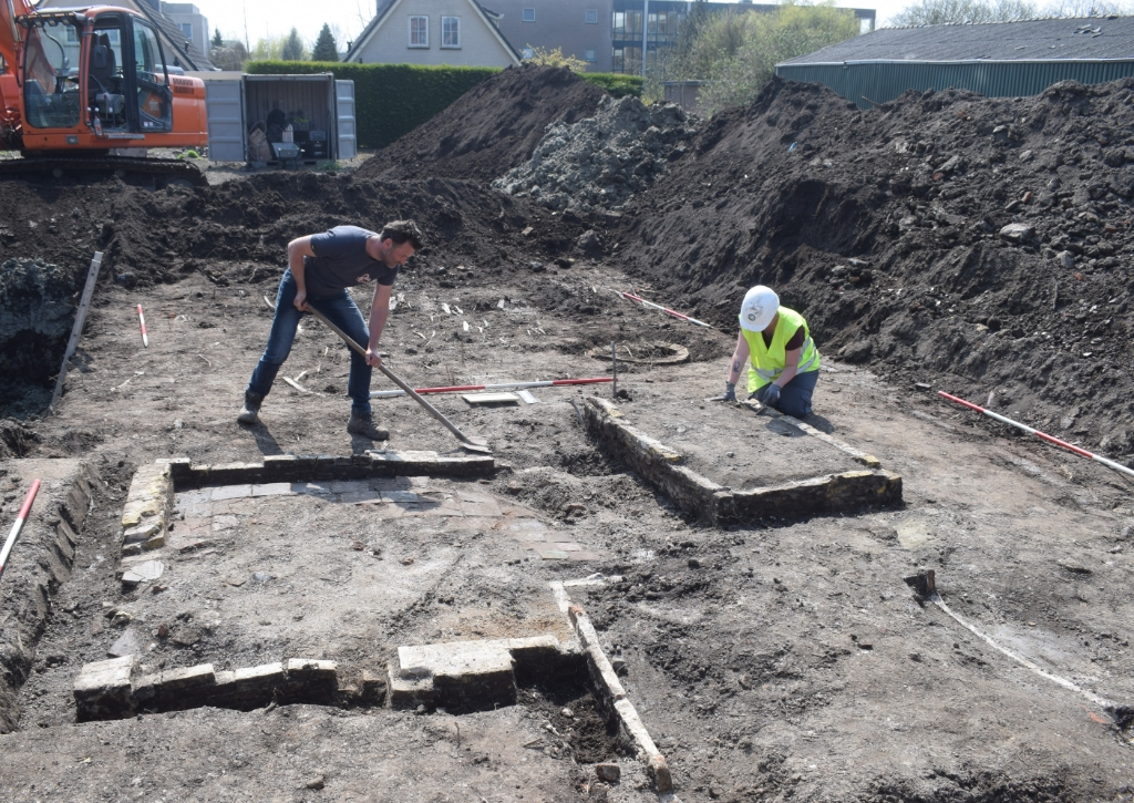 Opgravingen Hoofdstraat Bovenkarspel. Foto: Archeologie West-Friesland © rodi