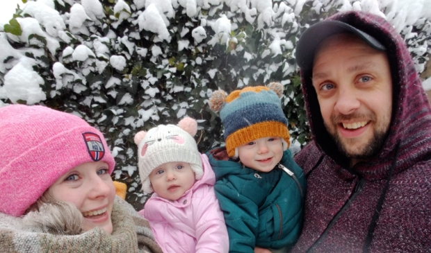 <p>Melissa en haar gezin.</p>