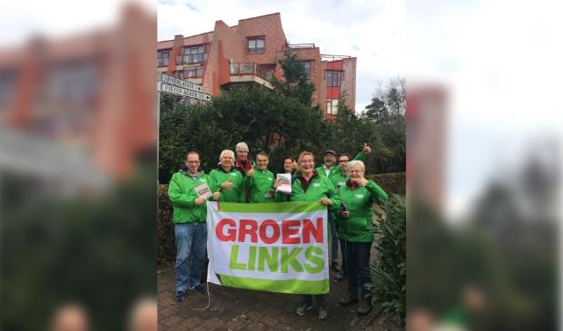 Leden van GroenLinks Heemskerk. (Foto: Facebook GroenLinks Heemskerk) © rodi