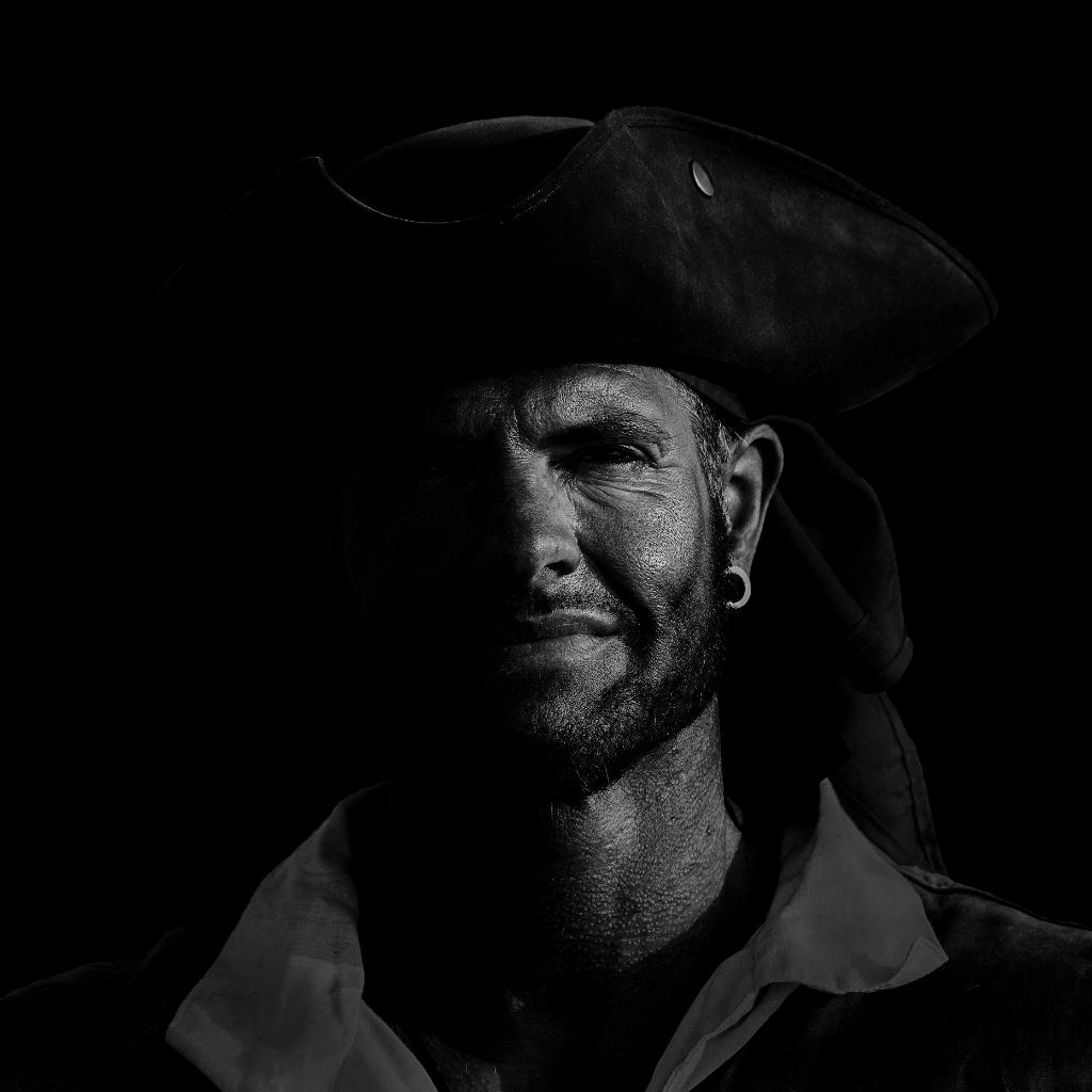 De piraat. (Foto: John Blankwater) © rodi