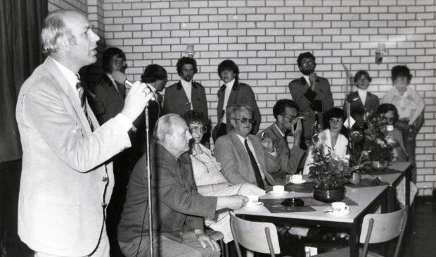 <p>Opening nieuwbouw De Jutter aan de Spoorgracht op 2 juni 1981.</p>