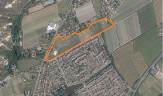 <p>Globale locatie Egmond aan den Hoef Noord</p>