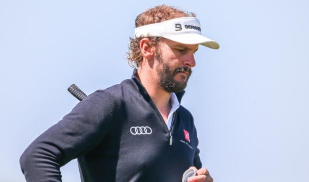 Joost Luiten had graag weer Nederland vertegenwoordigd op de Spelen, maar mag niet. ,,NOC*NSF begrijpt weinig van golf.''