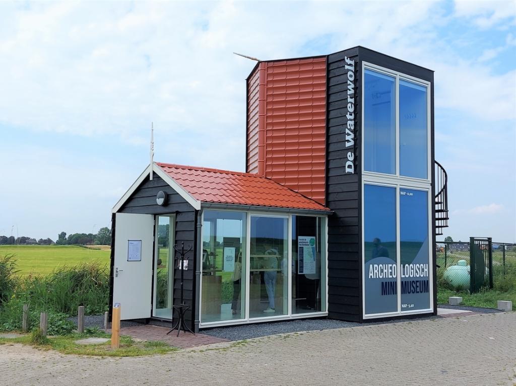 Exterieur mini-museum Etersheim. (Foto: aangeleverd) © rodi