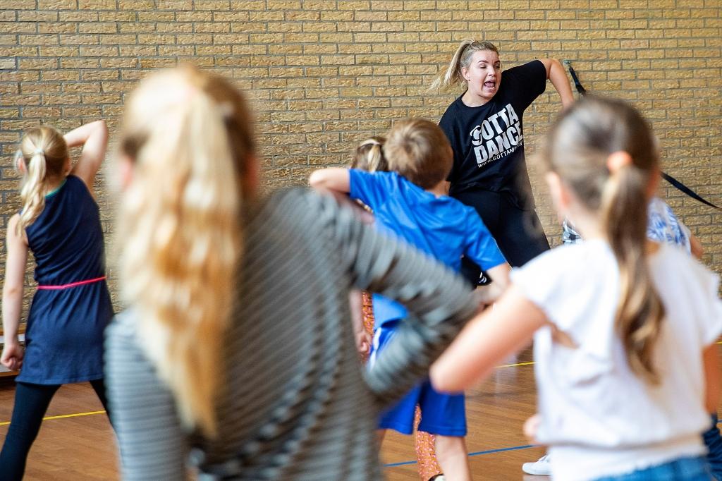Er stonden nog veel meer activiteiten op het programma van de zomerweek, waaronder een dansworkshop. (Foto: vincentdevriesfoto.nl) © rodi