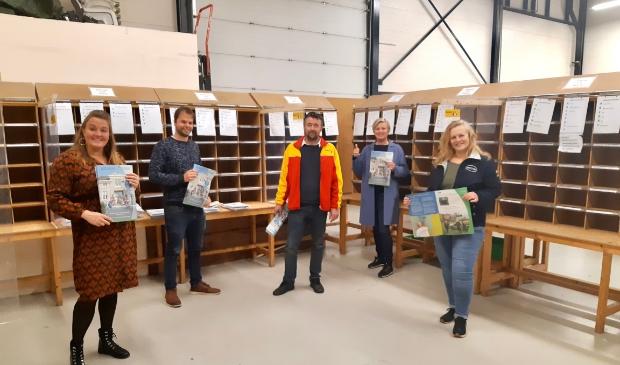 <p>Vlnr: Nicole Klaver van Rodi Media, Richard Steijger en Mark Meijer van Werkom, Agnes Bak van de Waterlandse Uitdaging en Janine de Bruijn van Van &rsquo;t Hek.</p>