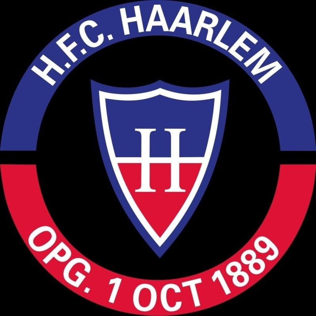 Het logo van H.F.C. Haarlem. (Foto: Archief) © rodi