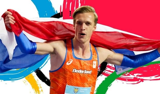 Tony '2Laps' van Diepen komt op de Spelen uit op de 800 meter en de 4x400 meter estafette.