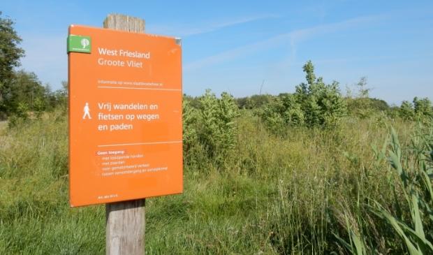 <p>Recre&euml;ren in het natuurgebied De Groote Vliet.</p>