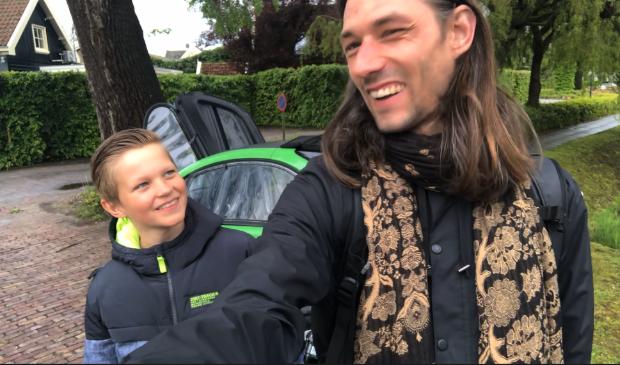 <p>Sander en Toine on tour in de Beemster. Zij maakten er een vlog over.&nbsp;</p>