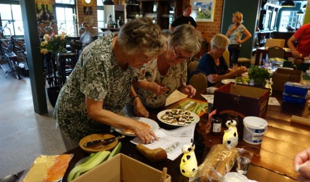 <p>De workshop tapas maken viel een paar jaar geleden goed in de smaak.</p>