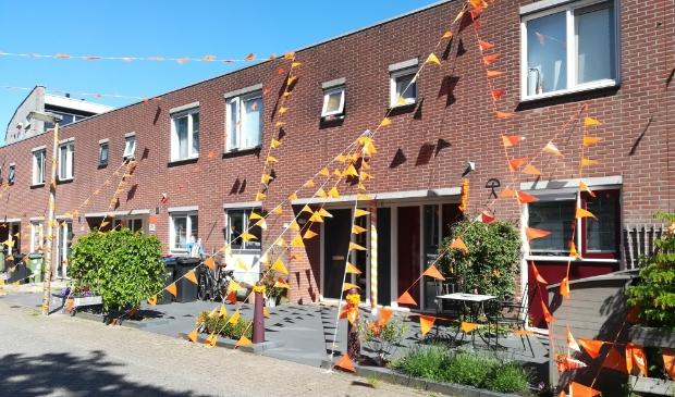 <p>Je ziet steeds meer huizen en straten oranje kleuren. Zoals hier in Tuinstee in Purmerend.</p>