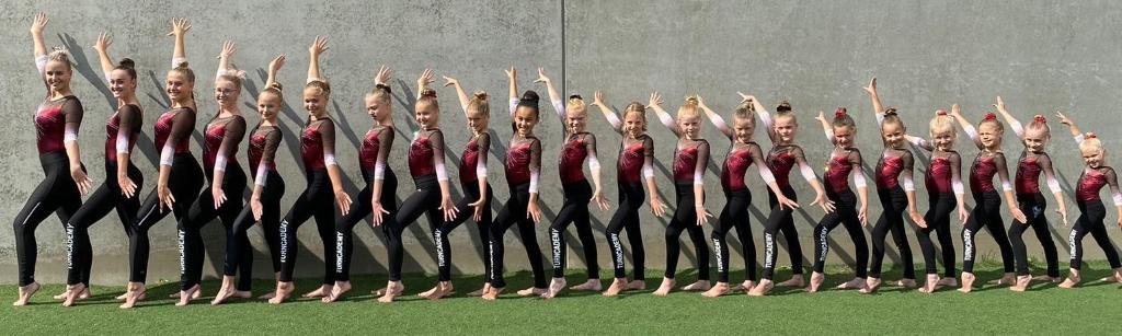 De turngroep van Turncademy. (Foto: aangeleverd) © rodi