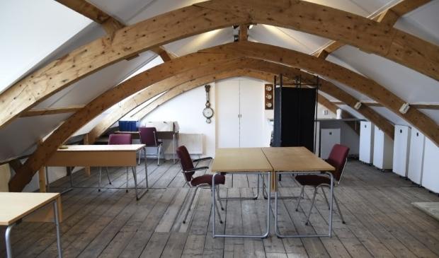 <p>De zolder is de ideale werkplek voor thuiswerkers!</p>