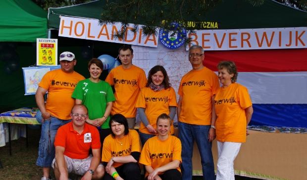 <p>De Commissie Internationale Betrekkingen van Wronki deed in mei 2012 aan Beverwijk-promotie. Er was een aantal kramen met informatiemateriaal, om te knutselen met de kinderen enz.</p>