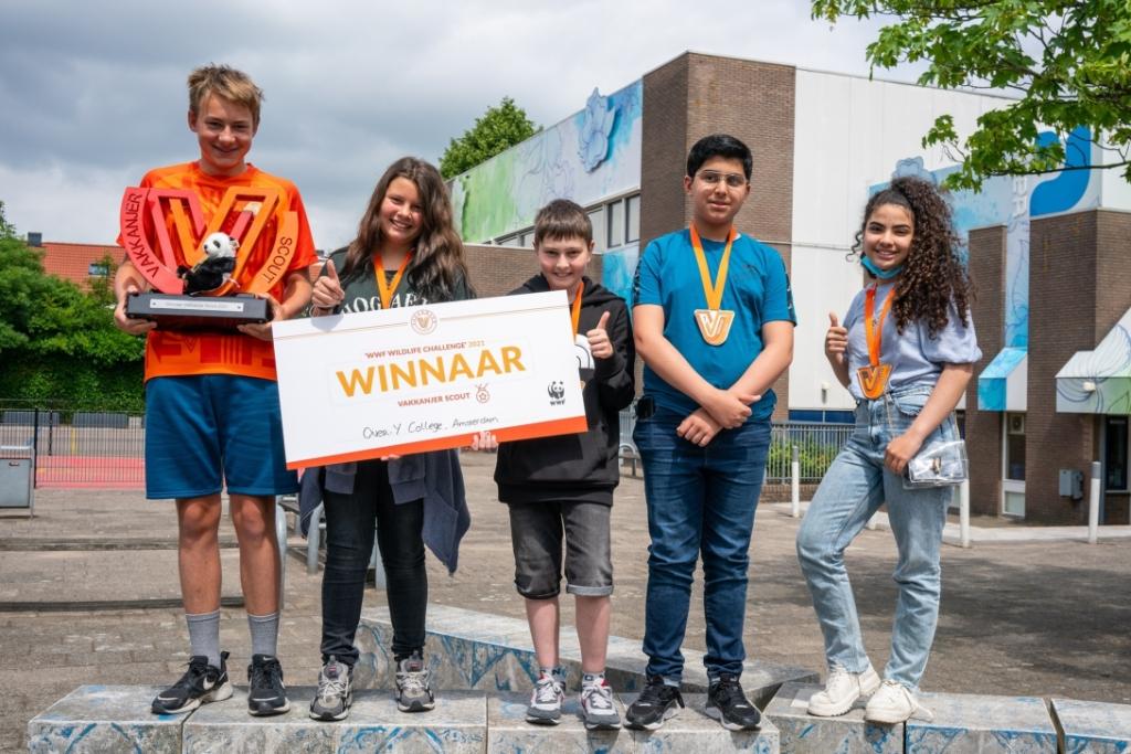Winnaars Vakkanjer Challenge.
