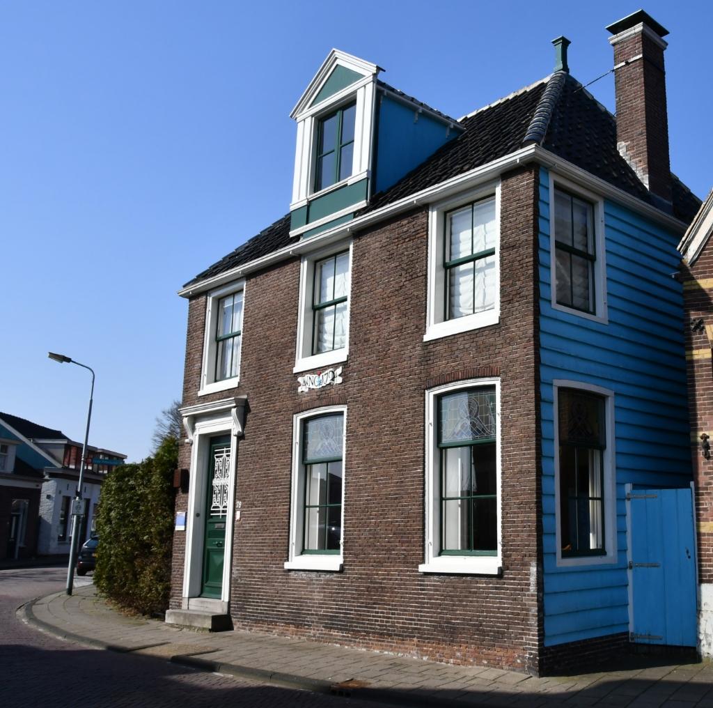 Wat heeft Monet met dit huis te maken? (Foto: Dirk Karten) © rodi