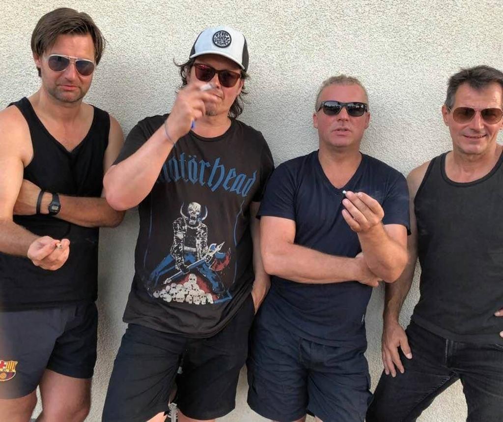 De vintage klanken van Mo (Hammond), Ian Rijksen (drums), Wilco Hietbrink (bas) en Vincent Hiemstra (gitaar). ((Foto: Aangeleverd)) © rodi