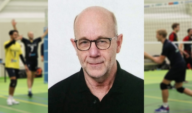 <p>Martin Rutten, trainer van het eerste herenteam van Zaanstad.</p>