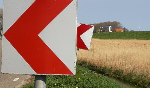 <p>Verkeersbord.</p>