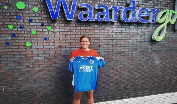 <p>&#39;Simone Hand is jong, leergierig en past goed in de groep&#39;, aldus coach Monique van der Rijst.</p>