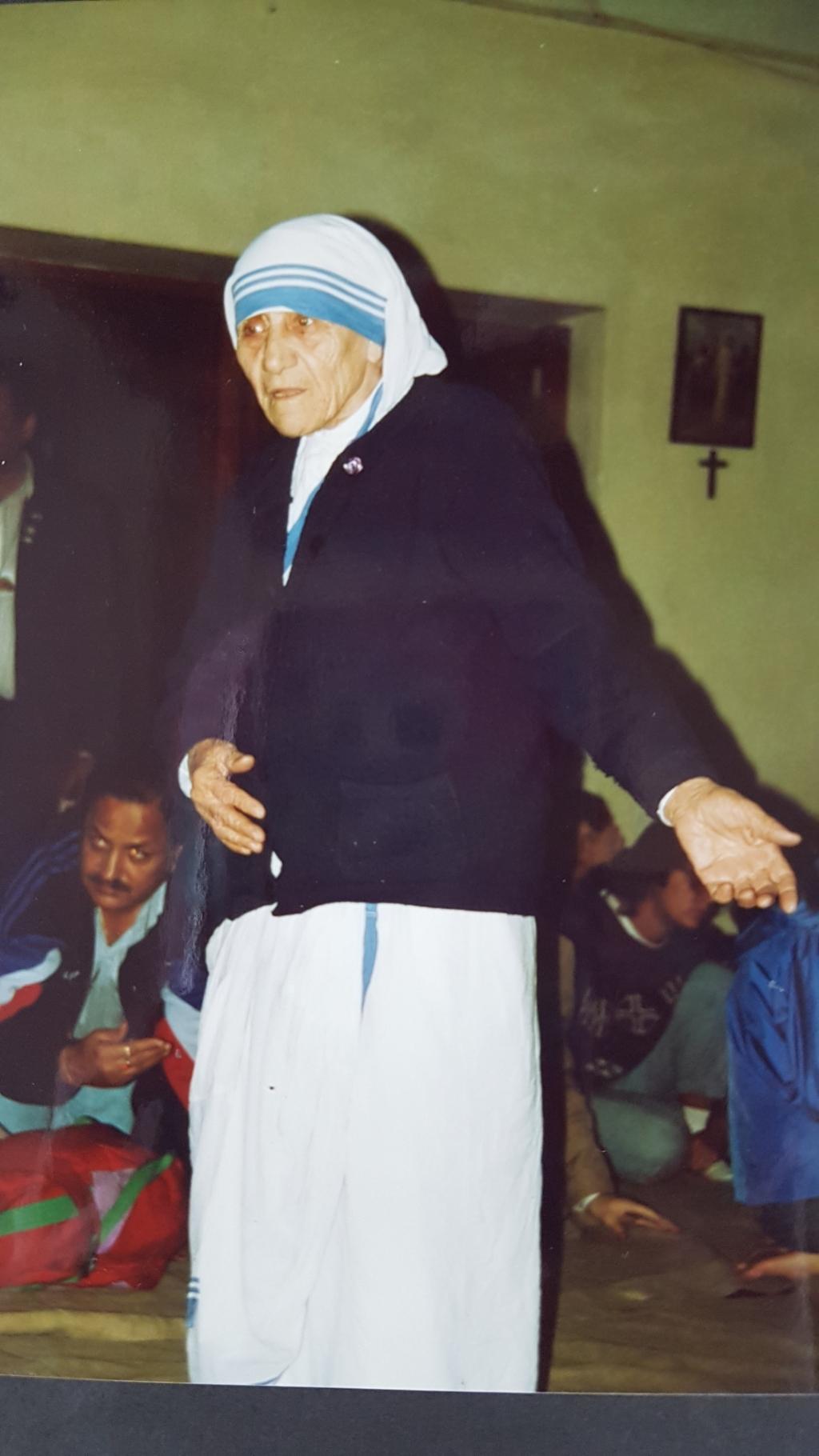 MOeder Teresa. ((Foto: Aangeleverd)) © rodi