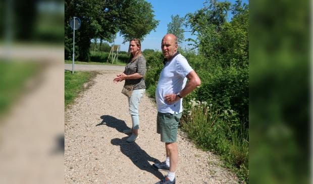 <p>Marjan van Kampen en Dick de Haas.</p>