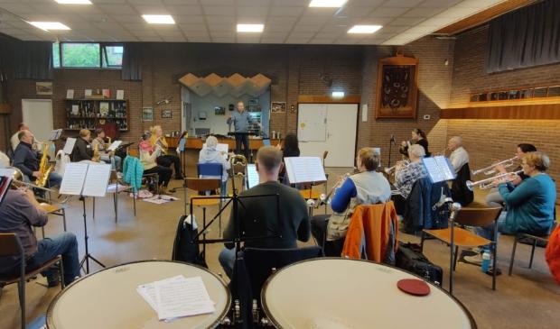 Repetitie A-orkest Concordia Oostzaan