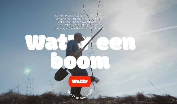 <p>Water een boom.</p>