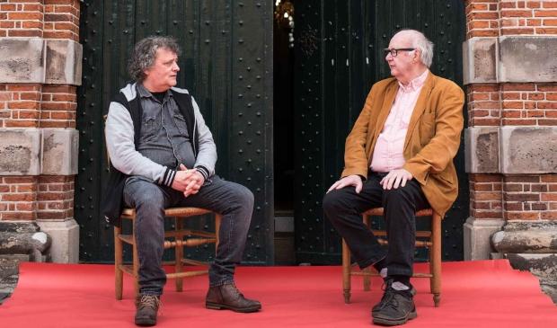<p>Bert Kistjes (rechts) en Serge Heman van de Grote Kerk bieden een heel bijzondere activiteit aan.</p>