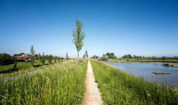 <p>De natuurzone loopt vanaf de Purmer-ringvaart, langs de N244 en strekt zich uit tot het noorden van Baanstee Noord. </p>
