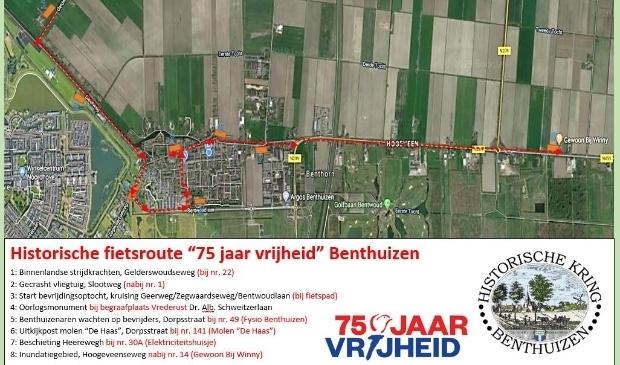 <p>U kunt vanaf heden langs historische plekken in Benthuizen fietsen.</p>