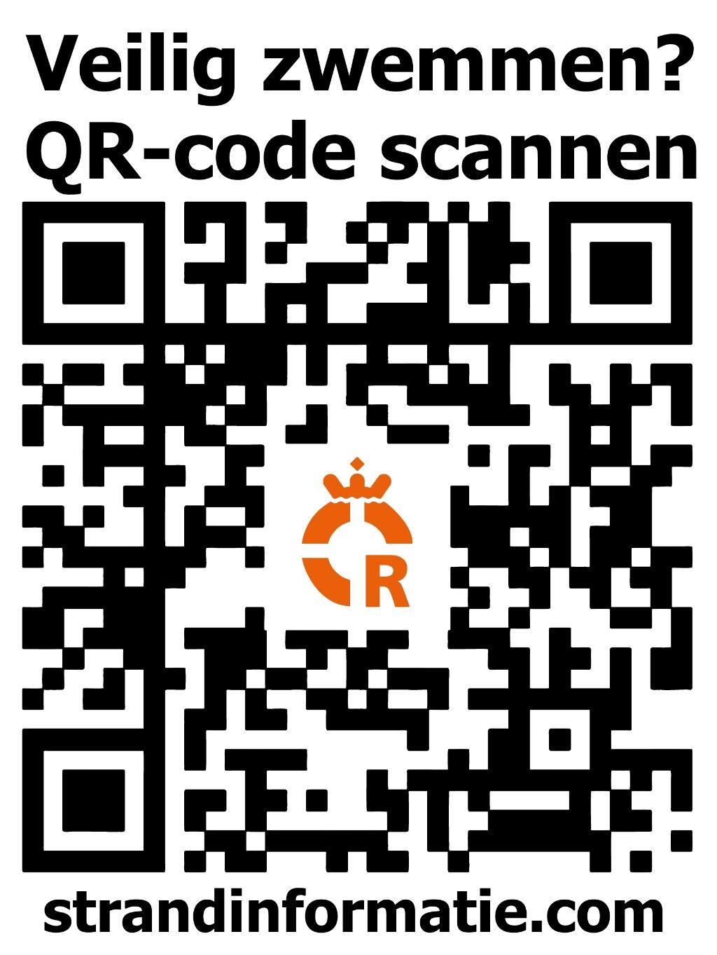 """De QR code voor de site <a href=""""//strandinformatie.com"""">strandinformatie.com</a>.  © rodi"""